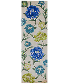 "Kas Catalina Floral Oasis 2'6"" x 8' Runner Rug"