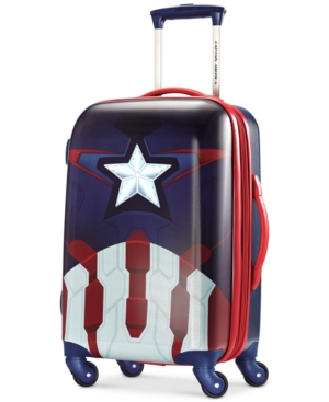 Marvel Captain America 21 Hardside Spinner Suitcase by American Tourister