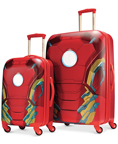 Marvel Iron Man Hardside Spinner Luggage by American Tourister