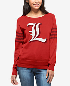 '47 Brand Women's Louisville Cardinals Ultra Drop Needle Sweater