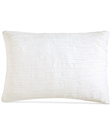DKNY City Pleat White King Sham