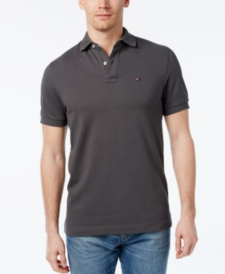 6c7e823bea2337 Image of Tommy Hilfiger Men s Classic-Fit Ivy Polo