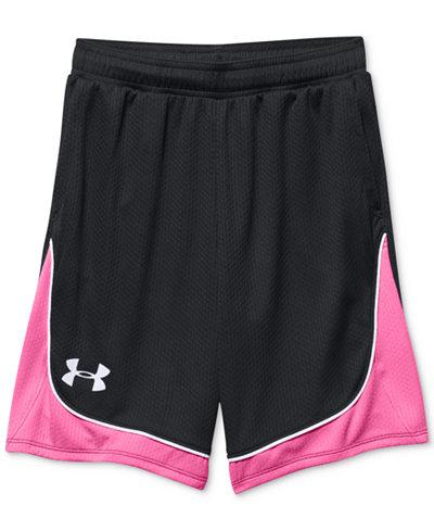 Under Armour Pop A Shot Basketball Shorts, Big Girls (7-16)