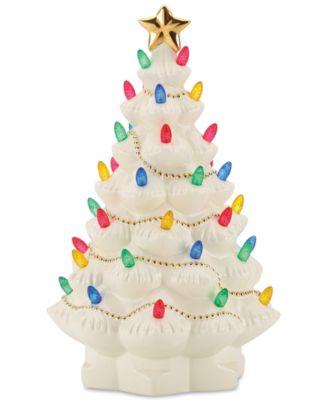 Treasured Traditions Lighted Tree Figurine