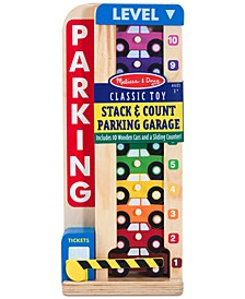 Melissa & Doug Kids' Stack & Count Parking Garage
