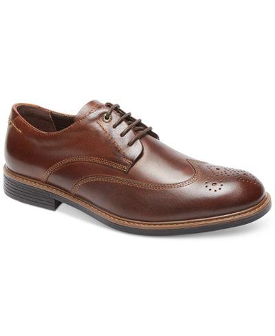 Rockport Men's Classic Break Wingtip Shoes