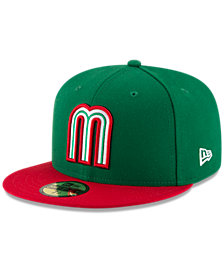 New Era Mexico 2017 World Baseball Classic 59FIFTY Fitted Cap