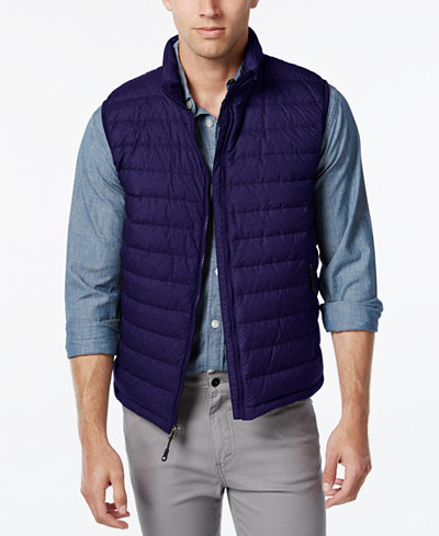 32 Degrees Packable Down Vest - Coats & Jackets - Men - Macy's
