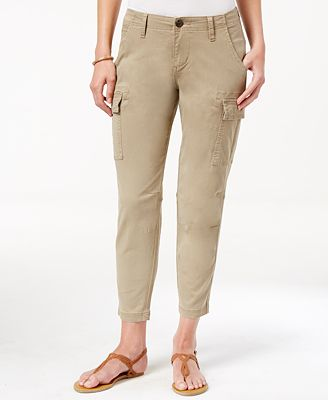 JAG Petite Powell Cropped Cargo Pants
