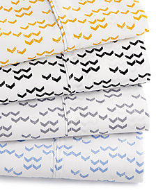 Printed Dart 200 Thread Count Cotton Sheet Sets