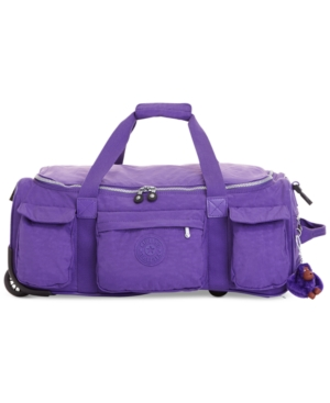"Closeout! 25% Off Kipling Discover 22"" Rolling Duffel"