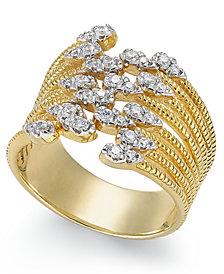 Diamond Statement Ring (1/3 ct. t.w.) in 14k Gold