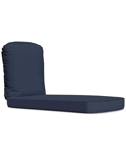 Furniture Monterey & Sandy Cove Outdoor Chaise Replacemet  Sunbrella® Cushion, Quick Ship