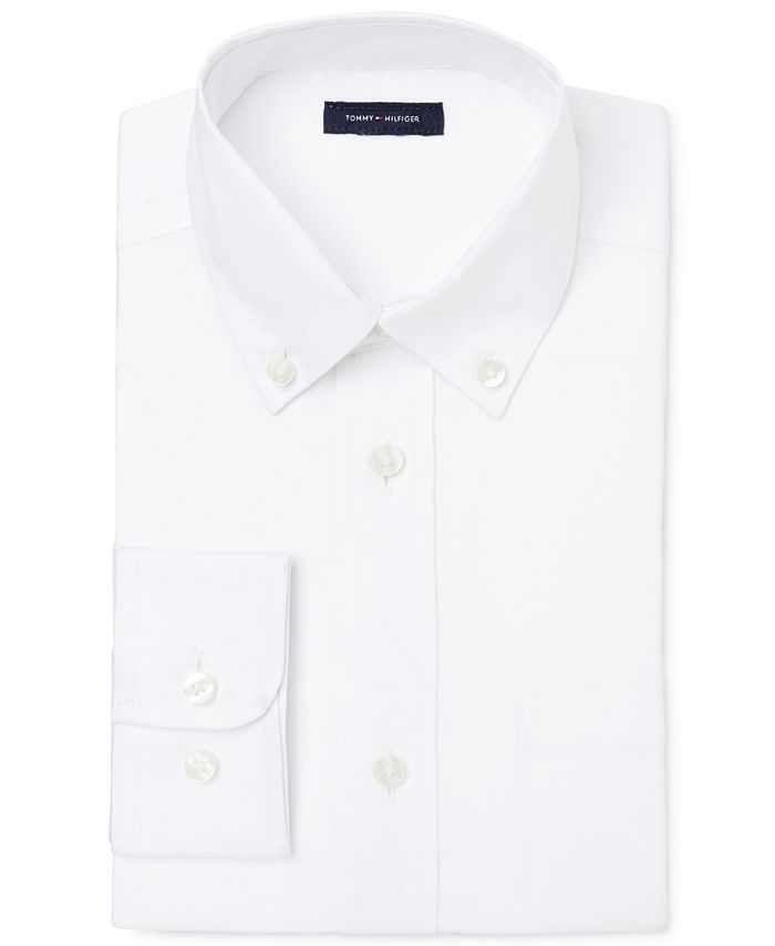 Tommy Hilfiger - Pinpoint Oxford Shirt, Little Boys