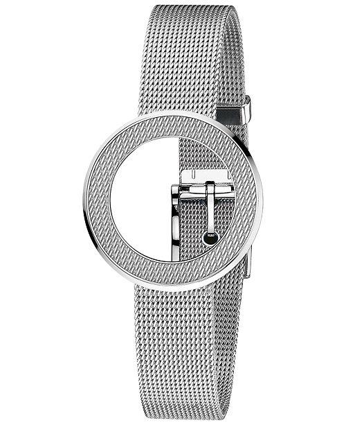 d978146d03e ... Gucci Women s Swiss U-Play Stainless Steel Mesh Bezel   Bracelet  YFA50044 ...