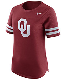Nike Women's Oklahoma Sooners Gear Up Modern Fan T-Shirt