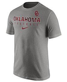 Nike Men's Oklahoma Sooners Cotton Practice T-Shirt