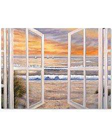"""'Elongated Window' by Joval 18"""" x 24"""" Canvas Print"""