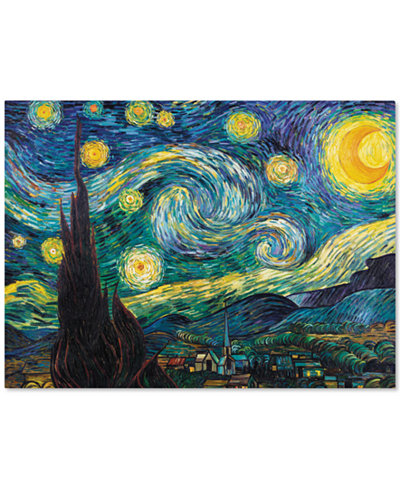 'Starry Night' Canvas Print by Vincent van Gogh 24