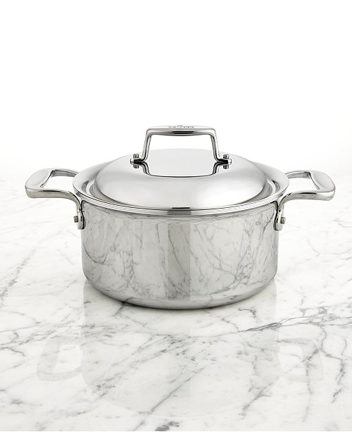 All-Clad d7 Stainless Steel 3.5-Qt. Round Dutch Oven