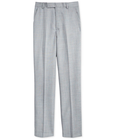 Calvin Klein Boys' Sharkskin Deco Suiting Pants