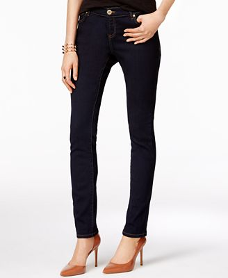 INC International Concepts INCEssentials Curvy-Fit Skinny Jeans ...