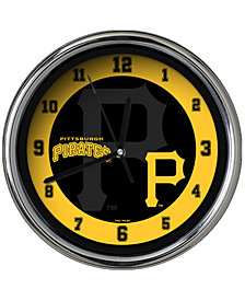 Memory Company Pittsburgh Pirates Chrome Clock II