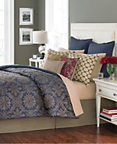 CLOSEOUT! Martha Stewart Collection Rosario 14 Piece Queen Comforter Set, Created for Macy's