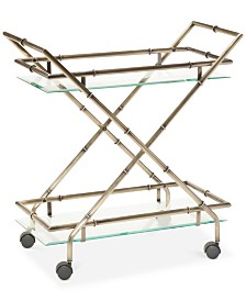 Hassel Rectangular Bar Cart, Quick Ship