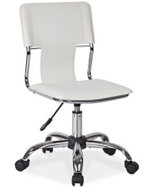 Marrah Rolling Adjustable Office Chair, Quick Ship