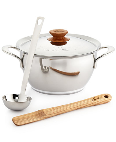 Lagostina heritage stainless steel 5 qt minestrone e for Lagostina kitchen tool set 8 pc