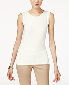 Petite High Neck Tank Top, Created for Macy's