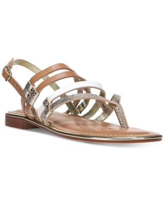 Image of Carlos by Carlos Santana Diego Strappy Flat Sandals