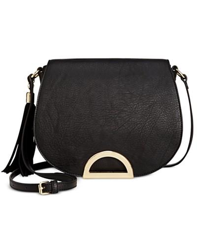 INC International Concepts Maraa Ring Saddle Bag, Created for Macy's