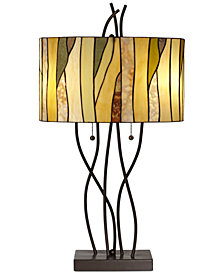 Pacific Coast Oak Vine Table Lamp
