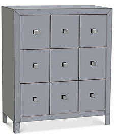 Morana Mirrored Multi Drawer Cabinet, Quick Ship