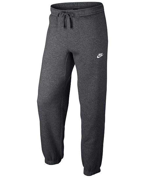 5f4710fa6cee Nike Men s Fleece Cuffed Bottom Pants   Reviews - All Activewear ...