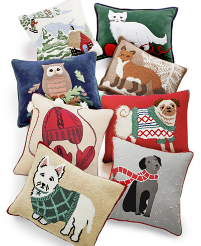 Closeout Martha Stewart Collection Winter And Animals