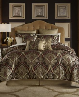 Croscill Bradney California King 4Pc Comforter Set Comforters