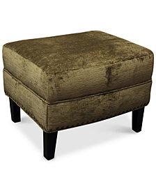 Calvin Fabric Ottoman
