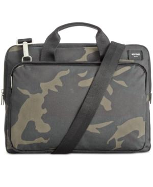 Jack Spade Men's Camo Slim Twill Briefcase