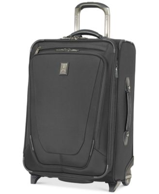 "Image of Travelpro Crew 11 22"" Carry-On Expandable Rolling Suitcase with USB charging port"