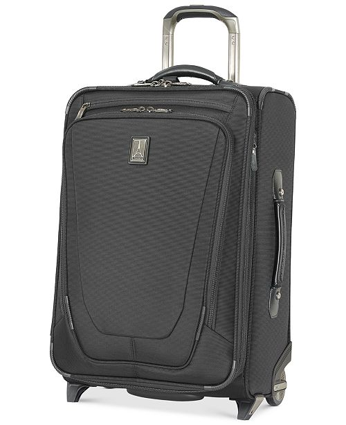 "Travelpro CLOSEOUT! Crew™ 11 22"" Expandable Rollaboard® Suiter Suitcase with USB Charging Port"