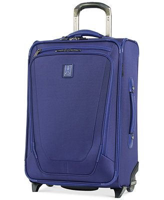"""Crew 11 22"""" Expandable Rollaboard® Suiter Suitcase With Usb Charging Port by Travelpro"""