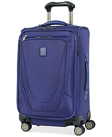 "Travelpro® Crew™ 21"" Expandable Spinner Carry-On Suiter Suitcase with USB charging port"