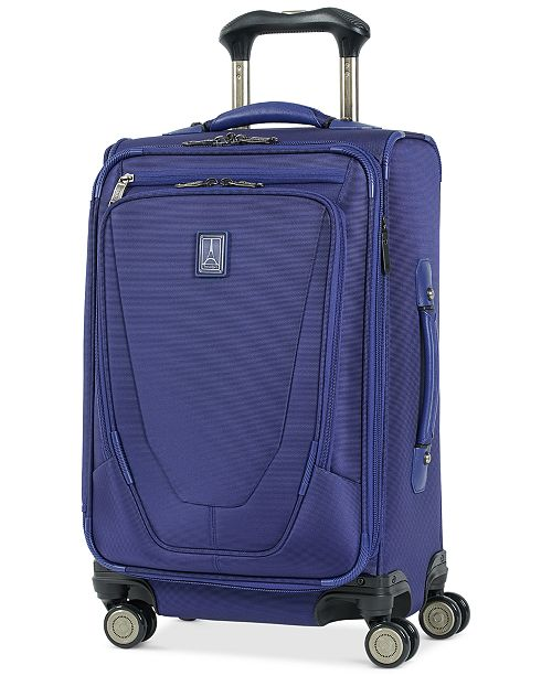 """Travelpro Crew™ 21"""" Expandable Spinner Carry-On Suiter Suitcase with USB charging port"""