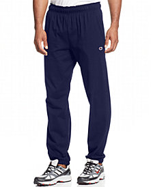 Champion Men's Jersey Banded Bottom Pants