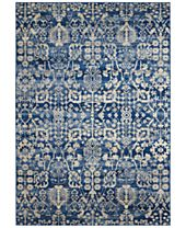 CLOSEOUT! Nourison Moraine MO757 Navy Area Rug