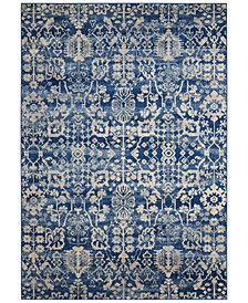 "CLOSEOUT! Nourison Moraine MO757 Navy 2' x 5'9"" Runner Rug"