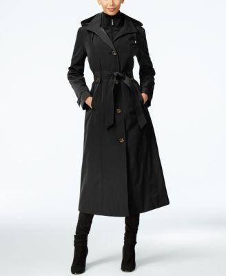 Black trench coat london fog